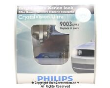 NEW Philips 9003 Crystal Vision Ultra 2-Pack 9003CVS2 Bulb