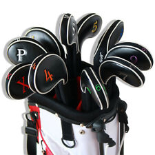 11pcs CRAFTSMAN Golf Iron Covers Club Headcovers For Titleist Mizuno Ping Wedges