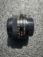 Minolta MD 50-50mm f/1.7 MD Lens