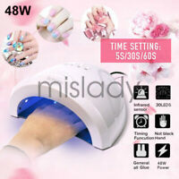 48W Nail Lamp UV Lamp Nail Dryer for UV LED Gel Polish Nail Machine