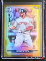 Rafael Devers 2020 Topps Gypsy Queen SP Chrome Gold Refractor 46/50 Red Sox #136