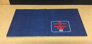 COMPLETE ESSO COLLECTION OF FOOTBALL CLUB BADGES 76 BADGES + PRESENTATION BOARD