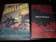 James Blaylock Zeuglodon Hans Klinker Signed Limited Subterranean Press
