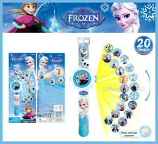Kids Educational Toy Lovely Frozen Figures Projection Wrist Watch Children Toy