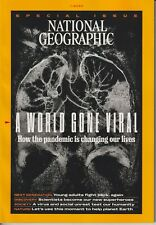 National Geographic November 2020 A World Gone Viral  (Magazine: Geography, Hist