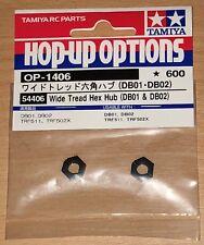 Tamiya 54406 Wide Tread Hex Hub (DB01 & DB02) (TRF501x/TRF502x/TRF503/TRF511)