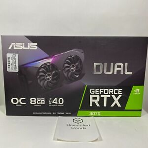 ASUS Dual NVIDIA GeForce RTX 3070 OC Edition Gaming Graphics Card 8GB FAST 🚚