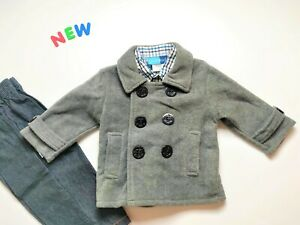 Toddler Kids Boys Clothes Size 4 NWT Good Lad Gray Shirt Jacket Set