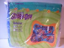 Scooby-Doo Sports Twin Bedskirt Dust Ruffle NIP NEW Unopened 1999 USA