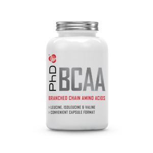PhD Nutrition BCAA capsules (195 capsules)  - Unflavoured