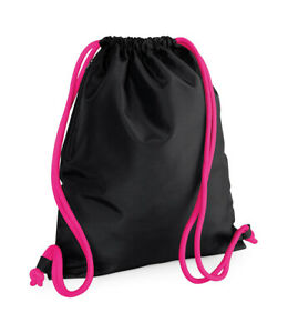 BagBase Icon Drawstring Backpack Gym Sack Gymsac - 18 Colours