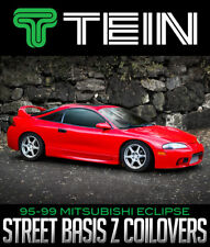TEIN STREET BASIS Z COILOVERS 1995-1999 MITSUBISHI ECLIPSE RS GS GST GSX FWD AWD