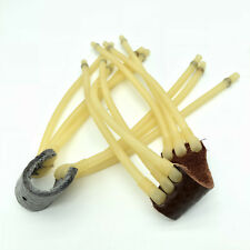 1xOutdoor Hunting Powerful Slingshot Rubber Band Catapult Sling Shot Games Tools