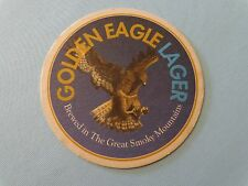 Beer Pub Coaster >^< Rocky River Brewery & Grille Golden Eagle Lager ~ TENNESSEE
