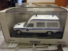 AMBULANCE MERCEDES BENZ 300D W123 NOREV 1:43 ED LIMITED 1 OF 750 Krankenwagen