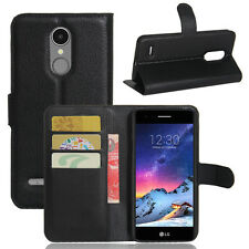 For LG K4 2017 Case, Wallet PU Leather Cover Case For LG K4 2017 LGX230YK