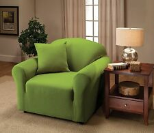 JERSEY LIME SLIPCOVER IN CHAIR SOFA LOVESEAT & RECLINER SIZES--BUYER TOP CHOICE