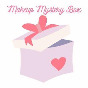 $75 Mixed Make-Up Box Bulk Lot Eyeliner Mascara Translucent Loose Setting Powder