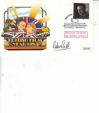 Robert Powell HAND SIGNED COVER