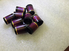 Burgundy Red Ferrule with 1 bright gold ring