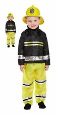 Fancy Dress Toddler Fireman Costume Book Week Boys Outfit