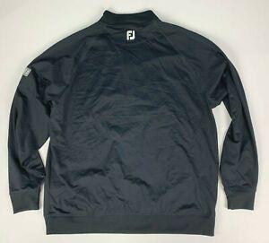 FootJoy MSE 1/4 Zip Performance Golf Pullover XL Black