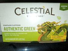 Celestial Seasonings-Authentic Green Tea, Pack of 6 ( 3 oz boxes )
