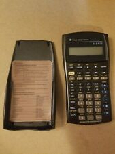 Texas Instruments BA II Plus Financial Calculator All Buttons Tested And Works