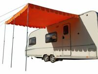 Caravana Capa Retro Toldo Vintage Retro Estilo Parasol OLPRO - Naranja