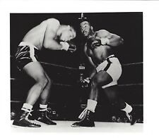 SONNY LISTON KO's FLOYD PATTERSON 8X10 PHOTO BOXING PICTURE WIDE BORDER