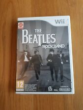 The Beatles Rockband NINTENDO Wii Juego UK PAL * Nuevo y Sellado *