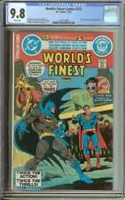 WORLD'S FINEST COMICS #273 CGC 9.8 WHITE PAGES