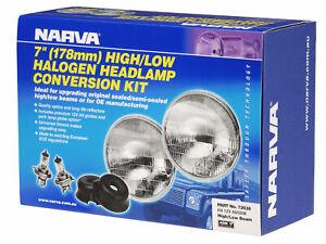 "Narva 7"" H4 Halogen Headlamp Conversion Kit 12V 60/55W - 72038 fits Holden E ..."
