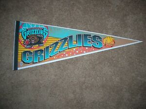 Vancouver Grizzlies 1990 full size pennant