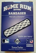 "Tampay Bay Rays MLB Home Run Sterile Bandages Baseball 20 Pack 3/4""x3"" NEW"