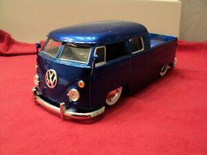 Jada 1963 Volkswagen pickup 1:24 Scale New no box blue exterior  HTF