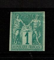 French Colonies SC# 24, Mint Hinged, some gum creasing - S9747