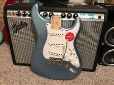 Fender Squier Stratocaster BODY Strat Lake Placid Blue - LOADED + neck plate!
