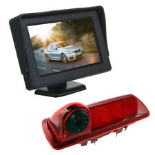"4.3"" Dash Monitor Screen Brake Light Camera For Vauxhall Vivaro Renault Trafic"