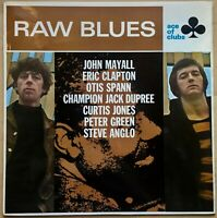 RAW BLUES JOHN MAYALL ERIC CLAPTON 1967 UK DECCA ACE OF CLUBS VINYL LP SCL 1220