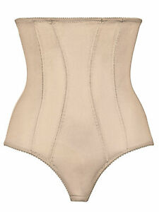 Nude High Waist Panty Girdle Knickers Shapewear NATURANA 0061 EUR70 Size S/M