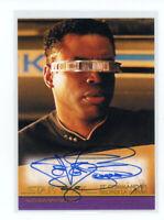 Star Trek Inflexions LeVar Burton as Geordi La Forge Movie Design Auto Autograph