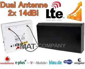 LTE 4G Antenne 2x 14dBi Speedport LTE II VODAFONE B593u12 B390 B1000 B2000