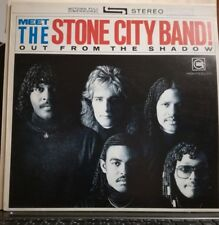 MEET THE STONE CITY BAND!OUT FORM SHADOW-RICK JAMES 33 GIRI VINILE PROMO