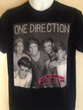 ONE DIRECTION 1D TOUR 2013 MEDIUM T SHIRT POP OUT OF PRINT
