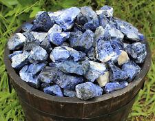 3 lb HUGE Bulk Lot Natural Rough Sodalite (Raw Gemstone Crystal Rock Specimen)