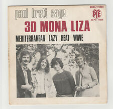 SP 45 TOURS PAUL BRETT SAGE 3D MONA LIZA en 1970 PYE RECORDS 45.PV. 15339