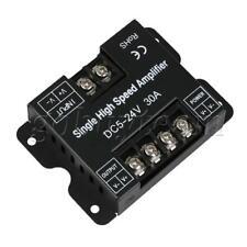 Black Single High Speed Power Amplifier DC 5V-24V 30A for LED Lights