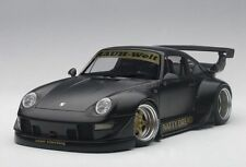 Autoart PORSCHE 993 RWB MATT BLACK/GOLD WHEELS COMPOSITE MODEL 1:18*New Item!