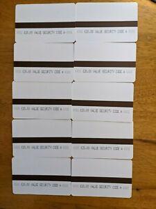 10 x Electric Meter Card Code A £20